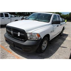 2015 RAM 1500 PICKUP TRUCK --VIN/SN:1C6RR6FT4FS742164 ::EXT. CAB, V8 GAS, A/T, 59,328 MILES