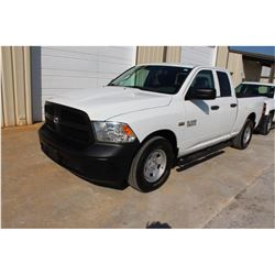2015 RAM 1500 PICKUP TRUCK --VIN/SN:1C6RR6FT1FS742137 ::EXT. CAB, V8 GAS, A/T, 62,556 MILES