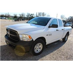 2015 RAM 1500 PICKUP TRUCK --VIN/SN:1C6RR6FT5FS742139 ::EXT. CAB, V8 GAS, A/T, 71,834 MILES