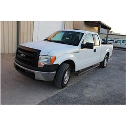 2014 FORD F150 PICKUP TRUCK --VIN/SN:1FTEX1CM9EFC09618 ::EXT. CAB, V6 GAS, A/T, 51,484 MILES