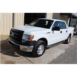 2014 FORD F150 PICKUP TRUCK --VIN/SN:1FTFW1EF9EKE92566 ::4X4, CREW CAB, V8 GAS, A/T, BED COVER, 75,0