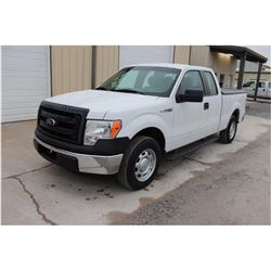 2013 FORD F150 PICKUP TRUCK --VIN/SN:1FTEX1CM4DFC14109 ::EXT. CAB, V6 GAS, A/T, BED COVER, 53,882 MI