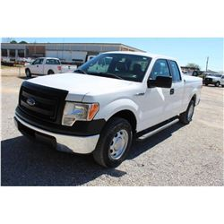 2014 FORD F150 PICKUP TRUCK --VIN/SN:1FTEX1CMXEFC09613 ::EXT. CAB, V6 GAS, A/T, BED COVER, 78,822 MI