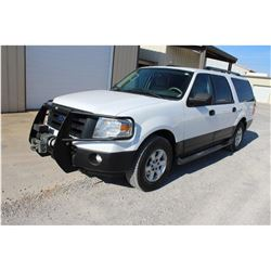 2014 FORD EXPEDITION --VIN/SN:1FMJK1G53EEF63331 ::4X4, V8 GAS, A/T, WINCH, 3RD ROW SEATING, 105,580