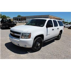2007 CHEVROLET SURBURBAN --VIN/SN:3GNGC26K47G296678 ::V8 GAS, A/T, 3RD ROW SEATING, 77,400 MILES