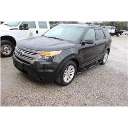 2015 FORD EXPLORER --VIN/SN:1FM5K8B87FGC27294 ::4X4, V6 GAS, A/T, 3RD ROW SEATING, 74,902 MILES