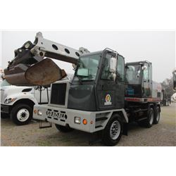 2008 GRADALL XL4100II WHEELED EXCAVATOR --VIN/SN:4100000304 ::36'''' BUCKET, 60'''' CLEAN OUT BUCKET