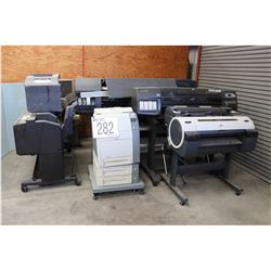 MICRO-FILM/FICHE READER/PRINTER, LARGE FORMAT PRINTERS, PLOTTERS