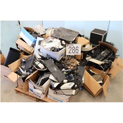MISC OFFICE ACCESSORIES, ELECTRIC STAPLERS, SHREDDERS, HUMIDIFIER, CD DUPLICATOR