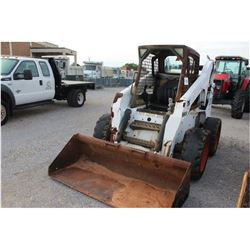 BOBCAT S250 SKID STEER LOADER --VIN/SN:521315795 ::WHEELED, BUCKET, CANOPY, 638 HOURS (EXTRA SET OF