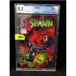 "Graded 1992 ""Spawn # 1"" Comic - Image Comics"