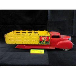 1940s/50s Marx Coca-Cola Sprite Boy Delivery Truck
