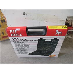 New Pit Bull 101 Piece Drill Accessory Set