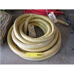 "36 Foot Goodyear 3/4"" Yellow 300 psi Hose"