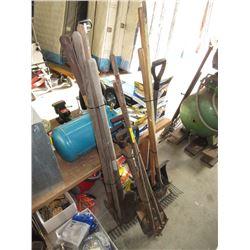 3 Bundles of Garden Tools