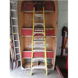 Featherlight 8 foot Step Ladder