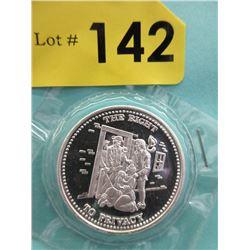 1 Oz. .999 Fine Silver Johnson Matthey Round