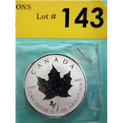 1 Oz .9999 Fine Silver 2014 Canada Maple Leaf Coin