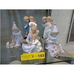 5 New Porcelain Figurines