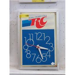 Vintage Electric RC Cola Clock