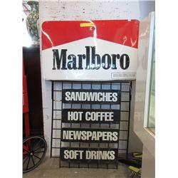 Vintage Marlboro Sandwich Sign