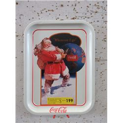 3 Coca-Cola Tin Trays