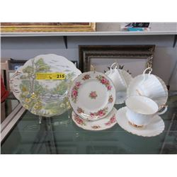 6 Pieces of English Fine Bone China
