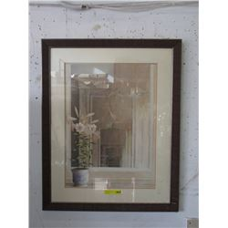Large Framed Double Matted Print