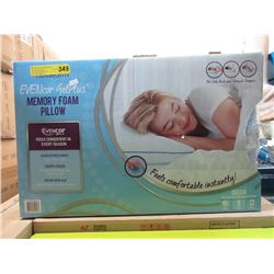 New Queen Size Evencor Gel Plus Memory Foam Pillow