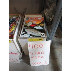 "100+ Assorted ""Star Trek"" Comics"