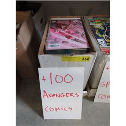 "100+ Assorted ""Avengers"" Comics"