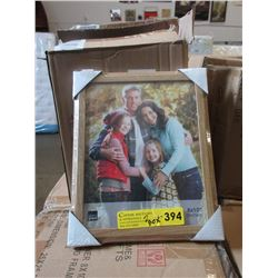 "2 Boxes of 12 New 8"" x 10"" Oak Frames"