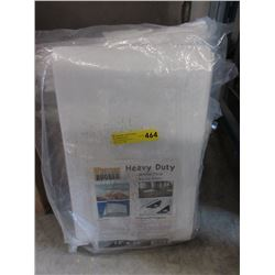 New Heavy Duty 12 x 16 Foot White Tarp