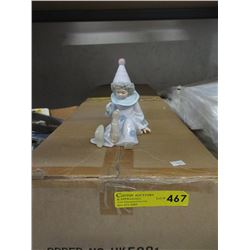 """Case of 12 New 6"""" Porcelain Figurines"""
