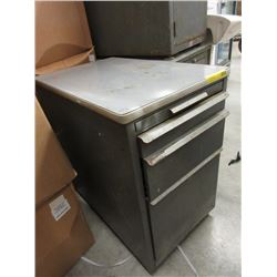 Vintage Metal File Drawer