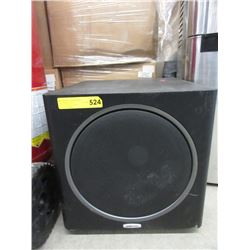 Large Polk Audio Subwoofer