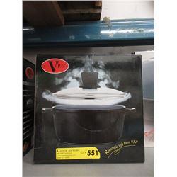 New Ceramic Coated 24 cm Soup Pot