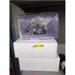 3 New 9 Piece Crib Bedding Sets