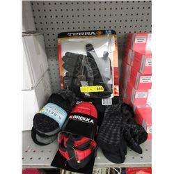 New Gloves, Socks & Slippers