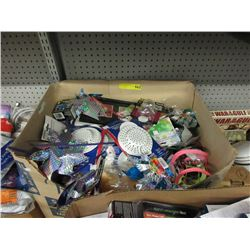 Large Box of Assorted New Household Goods