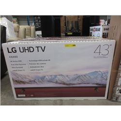 "New 43"" LG UHD TV - Model 43UK60"