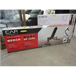 New CAP Strength Adjustable Utility Bench