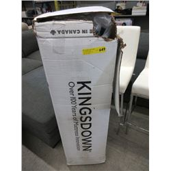 New Kingsdown Twin Size Mattress in Box.