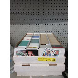 2 Boxes of Assorted Sports Trading Cards