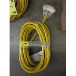 New 25 Foot Heavy Duty Extension Cord