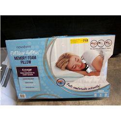 New Queen Size Nova Form Memory Foam Pillow