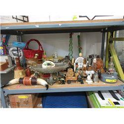 Shelf Lot of Assorted Goods - Many Vintage