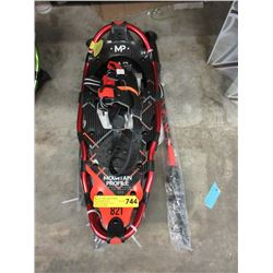 Pair of New Mountain Profile 821 Snowshoes & Poles