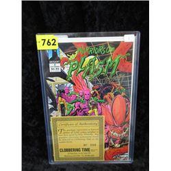 "Autographed ""Warriors of Plasm #2"" Defiant Comic"