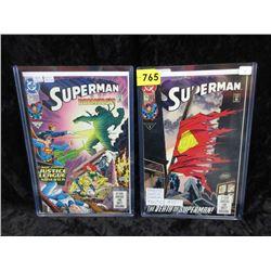 1992-93 Death of Superman #74 & #75 DC Comics